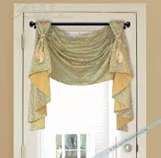 Swag Valances For Windows Designs Window Valances And Swags Victory Swag Valance With Jabots
