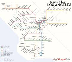 Metro Los Angeles Map by Metro Calitics
