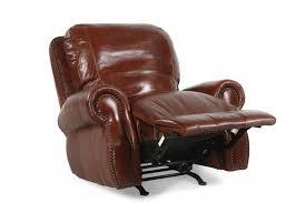 Natuzzi Leather Recliner Chair Usa Leather Brandy Rocker Recliner Mathis Brothers Furniture