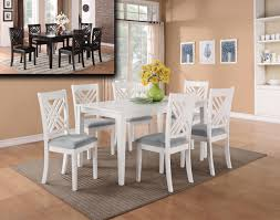 white dining room sets dining room alluring white dinette set with bench great table