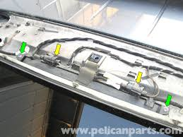 third brake light assembly porsche cayenne third brake light replacement 2003 2008 pelican