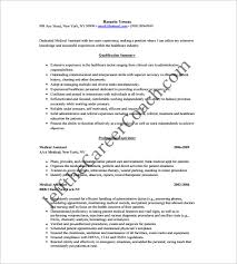 Summary For Medical Assistant Resume Medical Assistant Resume Template U2013 8 Free Word Excel Pdf