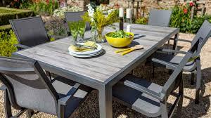 georgia 6 seat dining set georgia aluminium garden furniture