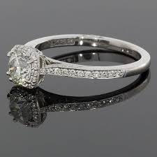 tacori dantela tacori certified diamond dantela halo engagement ring at 1stdibs