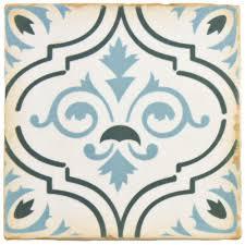 merola tile archivo fleur de lis 4 7 8 in x 4 7 8 in ceramic
