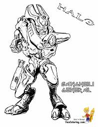 100 halo 3 coloring pages cattpix