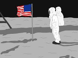 Flag On The Moon Conspiracy Moon Landing Conspiracists Meet For Lunch Inverse