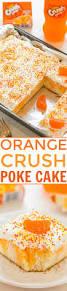 Halloween Poke Cake by Orange Crush Poke Cake Averie Cooks