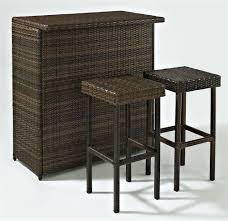 bar stools pc outdoor wicker bar set stools crosley furniture