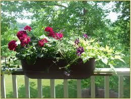 balcony railing planters home design ideas