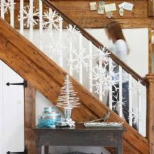 How To Decorate Banister With Garland Decorate The Stairs For Christmas U2013 30 Beautiful Ideas