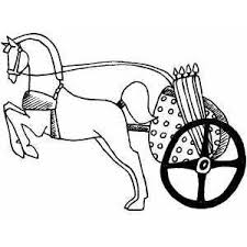 chariot coloring pages