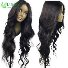 long black hair with part in the middle long hair 24 30 180 200 density glueless middle part 13x6 lace
