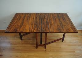 danish modern rosewood dining table phylum furniture
