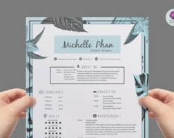 creative cv template resumte template cover letter