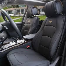 Vehicle Leather Upholstery Mustang Leather Seat Covers Ebay