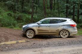 hyundai jeep 2015 2015 hyundai santa fe highlander off road tech test practical