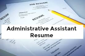 sle resume of administrative coordinator ii salary slip administrative assistant cover letter