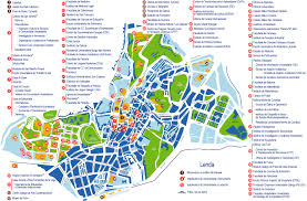 Cordoba Spain Map by Santiago De Compostela Tourist Map Santiago De Compostela Spain
