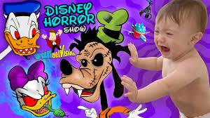 triple a halloween horror nights disney horror show triple baby scare cam shawn u0027s first