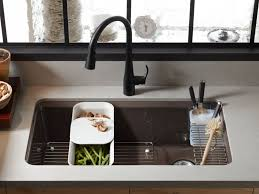 undermount kitchen sink with faucet holes standard plumbing supply product kohler k 5871 5ua3 0 riverby
