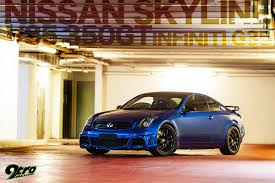 nissan skyline modified nissan skyline v35 350gt infiniti g35 9tro