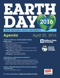 Indiana State University Campus Map by Earth Day Indiana State University