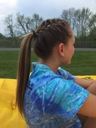 runners with short hair track runner hair hair styles pinterest volleyball hair