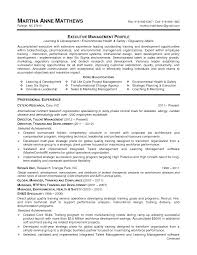 Resume Manager Sample Assistant Manager Training Resume