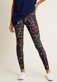 Plus Size Mermaid Leggings Cute U0026 Trendy Plus Size Fashion Modcloth