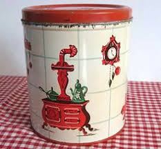 fashioned kitchen canisters decoware kitchen canister w lithographed bow from rusteesdustees