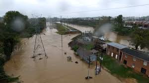 columbia thanksgiving break bird u0027s eye view of columbia canal flooding nbc news
