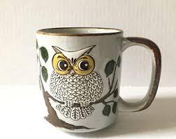 owl mug owl mug etsy