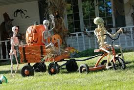 remarkable halloween yard decorations twuzzer