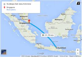 airasia bandung singapore air asia malaysia singapore crash updates map