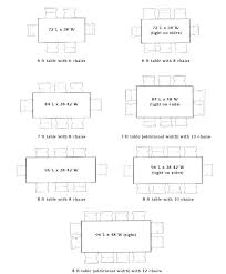 Dining Room Dimensions Average Dining Room Size Keepassa Co