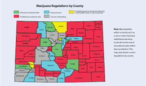 Colorado County Map by Colorado Marijuana Law And Real Estate Sales