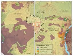 Gabon Map Illegal Mining