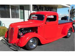 Vintage Ford Truck Parts Canada - 1937 ford pickup for sale on classiccars com 10 available