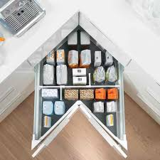 Organize Your Kitchen With These  Awesome Kitchen Storage - Kitchen cabinets corner drawers