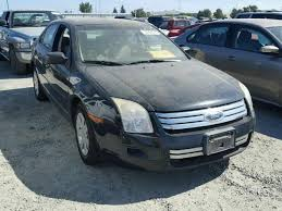 2007 ford fusion s 3fahp06z47r125541 2007 black ford fusion s on sale in ca