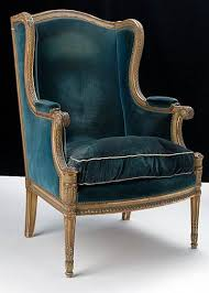 French Wingback Chair Green Velvet Bergere Google Search Living Room Pinterest