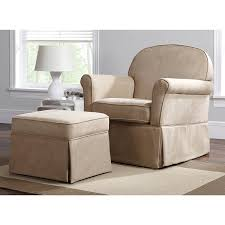 Glider And Ottoman Baby Relax Swivel Glider And Ottoman Set Hickory