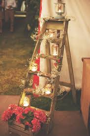 vintage wedding decorations how to decorate your vintage wedding with seemly useless ladders