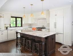 painted and stained kitchen cabinets can you have stained trim with white painted cabinets normandy