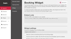 zapla booking system for websites youtube