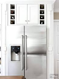 Cabinet Height Refrigerator Over Fridge Storage Ideas Full Image For Above Refrigerator