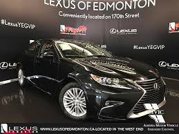 lexus isf for sale edmonton new 2017 lexus es 350 standard package 4 door car in edmonton