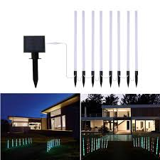 color changing solar string lights solar string lights outdoor ithird solar powered 8 modes color