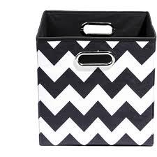 Canvas Storage Bins Modern Littles Bold Folding Storage Bin Choose Your Pattern
